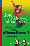 Joie, tristesse, jalousie, pourquoi tant d'émotions ?